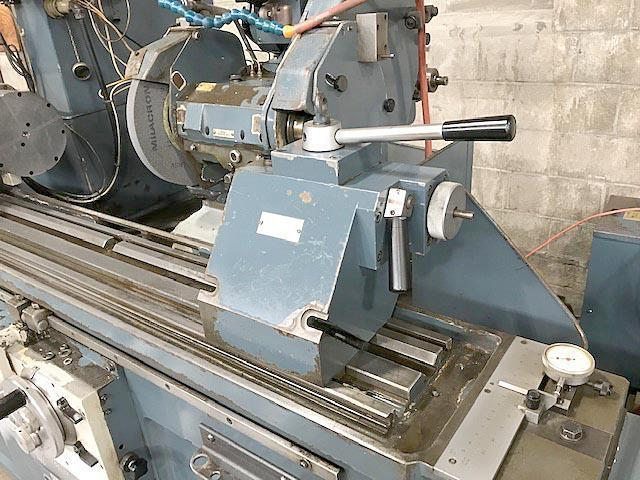 "14"" x 40"" JONES & SHIPMAN UNIVERSAL ID/OD Grinder, Model 1307, (2) OD Spindles, (1) ID Spindle, Swivel Work Head, Swivel Wheel Head, Steady Rest, Back Rest, DRO, New 1983."