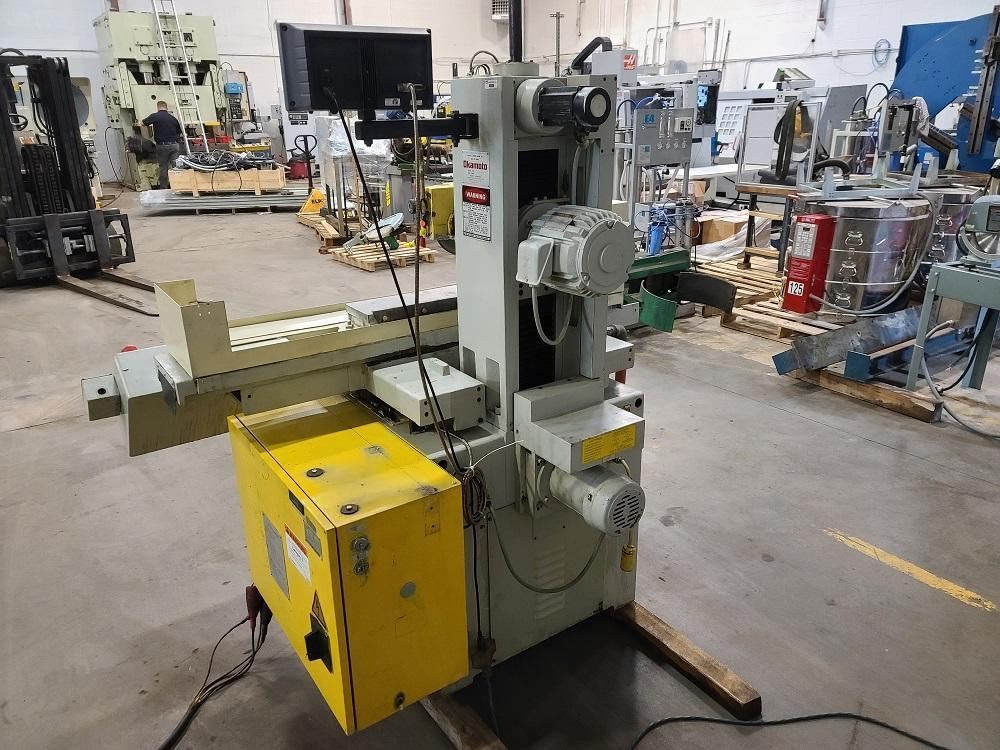 """6″ X 18″ OKAMOTO """"HIGH-PRECISION"""" SURFACE GRINDER WITH """"DX"""" PROGRAMMABLE AUTO INCREMENTAL DOWNFEED"""