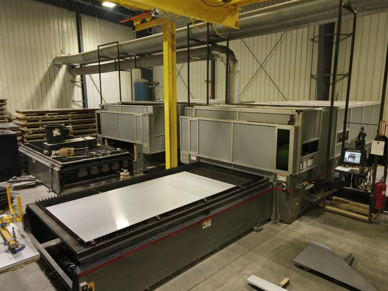 2014 Cincinnati CL940, 6x12, 4000 Watt Fiber Laser