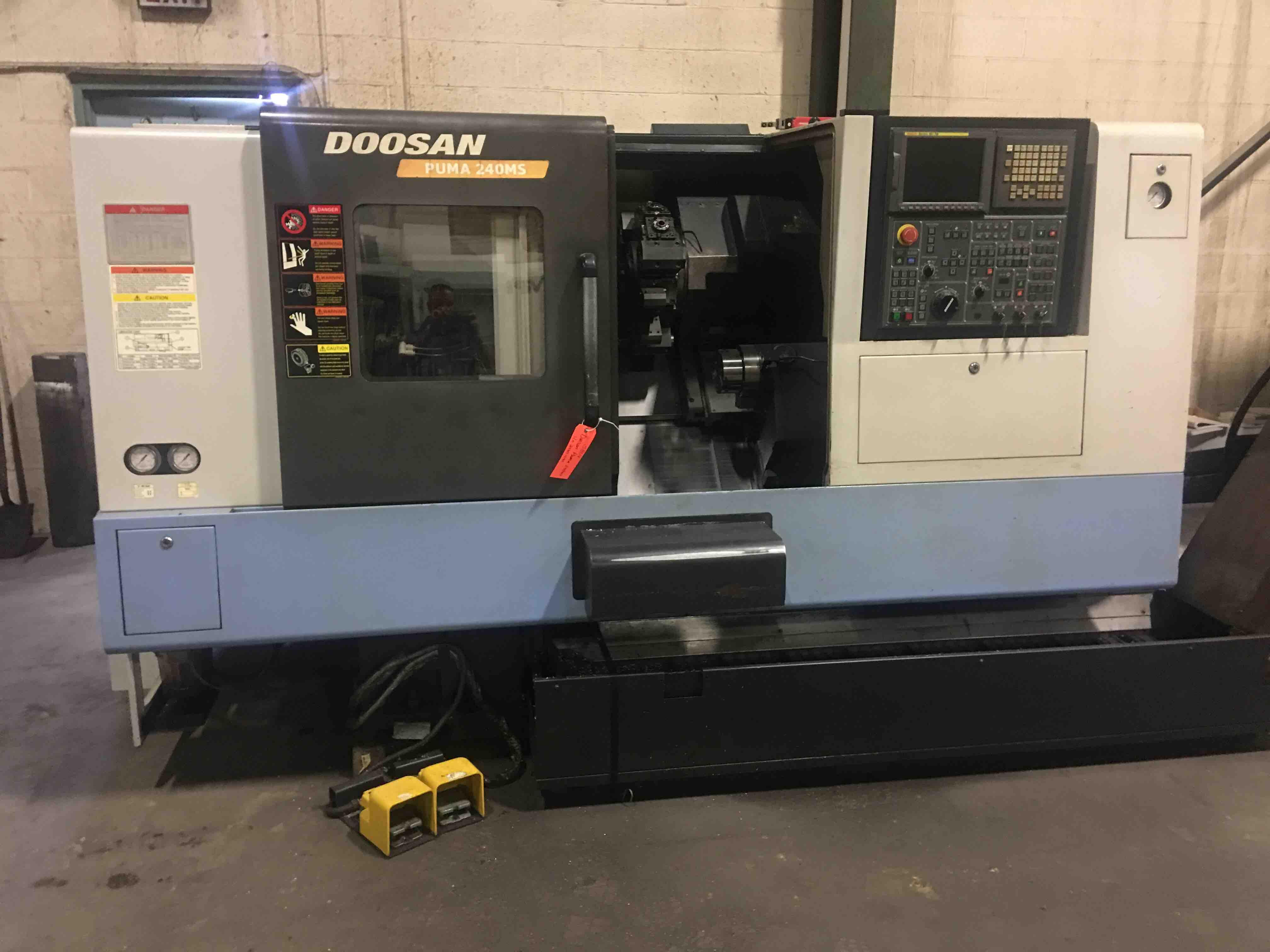 DOOSAN 240MSB - Lathes, CNC (3-Axis or More) | Machine Hub