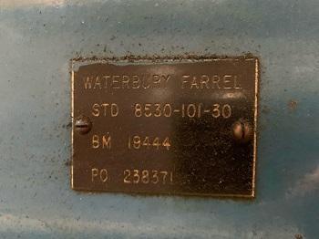 WATERBURY FARREL 2010HT ICOP EYELET TRANSFER PRESS   Our stock number: 115010