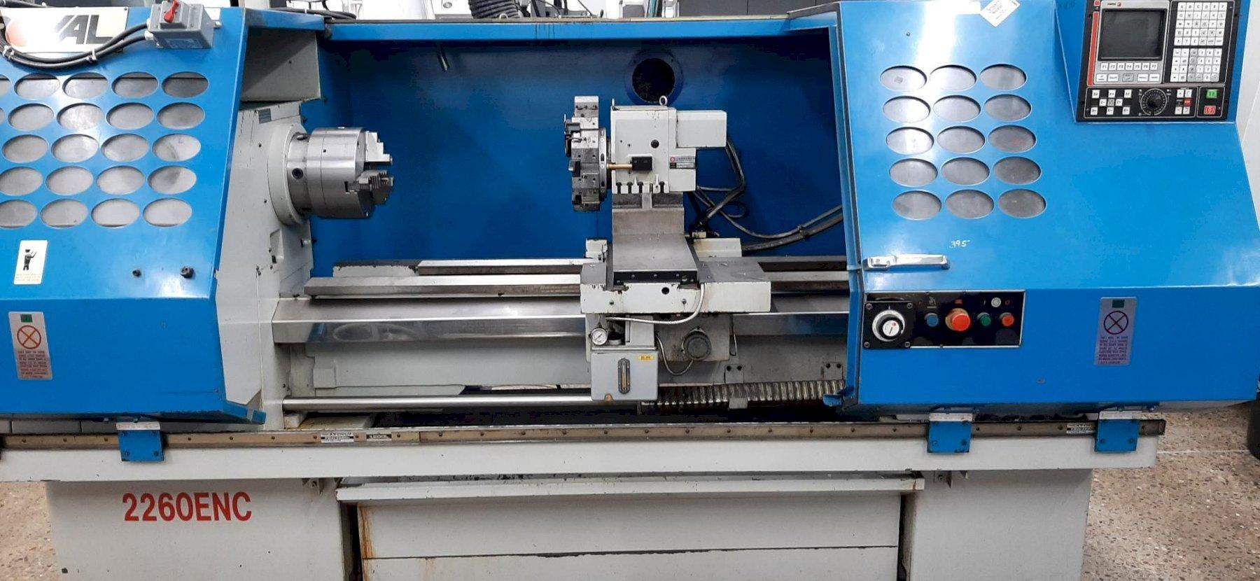 ROYAL (FORTUNE) 2260ENC CNC Flat Engine Lathe
