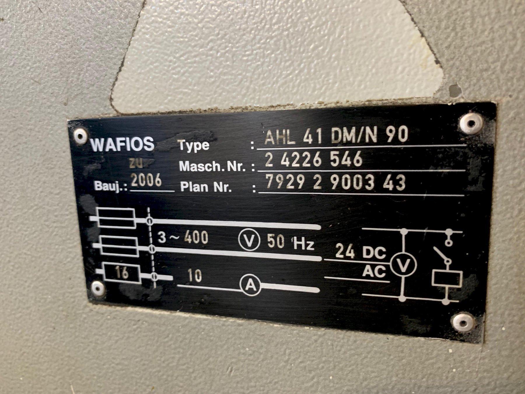 Wafios AHL 41 Power Uncoiler