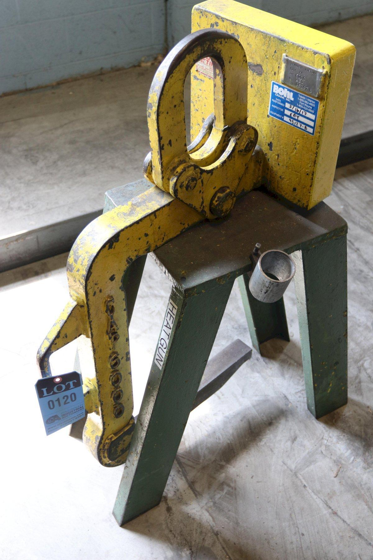"6,000 LB X 16"" BRADLEY COIL LIFT C HOOK: STOCK 12770"