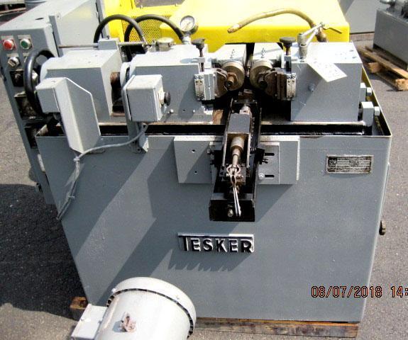Tesker Model 175 Cylindrical Die Thread Roller