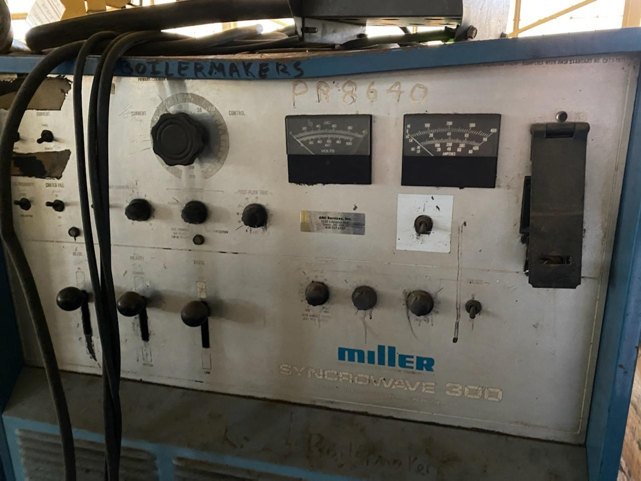 Miller Syncrowave 300 Welder