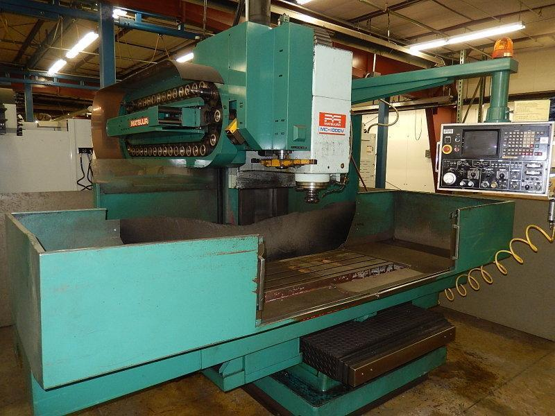 MATSUURA MACHINING CENTER WITH FANUC 6MB CONTROL & SPINDLE COOLER: STOCK #12966