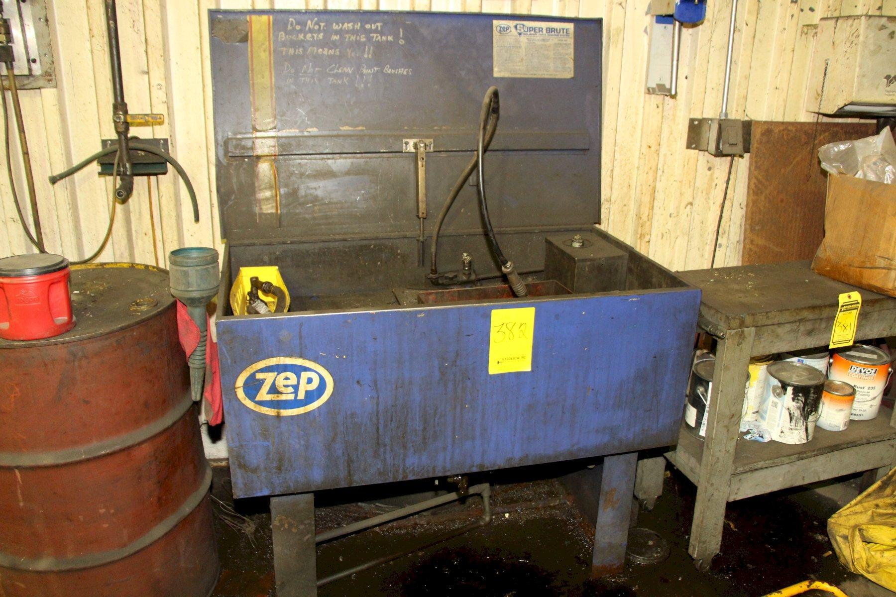 ZEP BRUTE PARTS WASHER: STOCK #11239