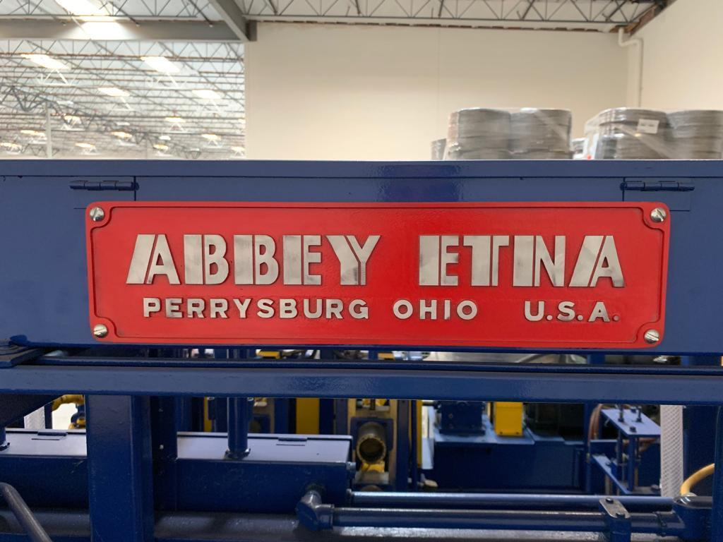 """3.5"""" x .125"""" Abbey Etna Stainless Laser Rafted Tube Mill Line"""