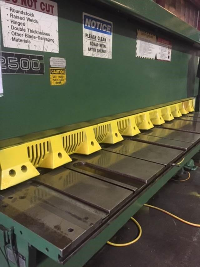 """1/4"""" x 10' CINCINNATI MODEL 2500 CNC HYDRAULIC POWER SHEAR"""