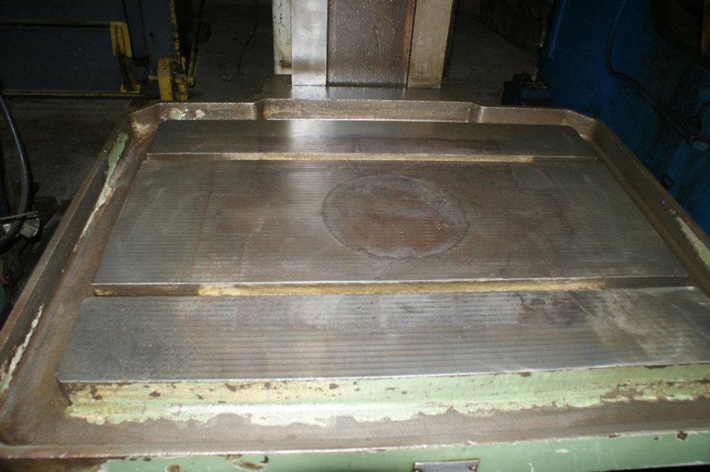 "USED ALZMETALL DRILLING & TAPPING PRESS, Model AB50/HST, 2"", Stock No. 9286"