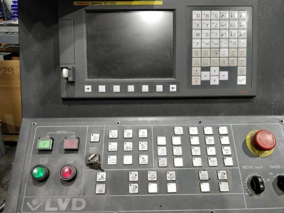 "1994 Strippit 1000 XP 20, 22 Ton, 40"", NEW Fanuc Controls & Drives"