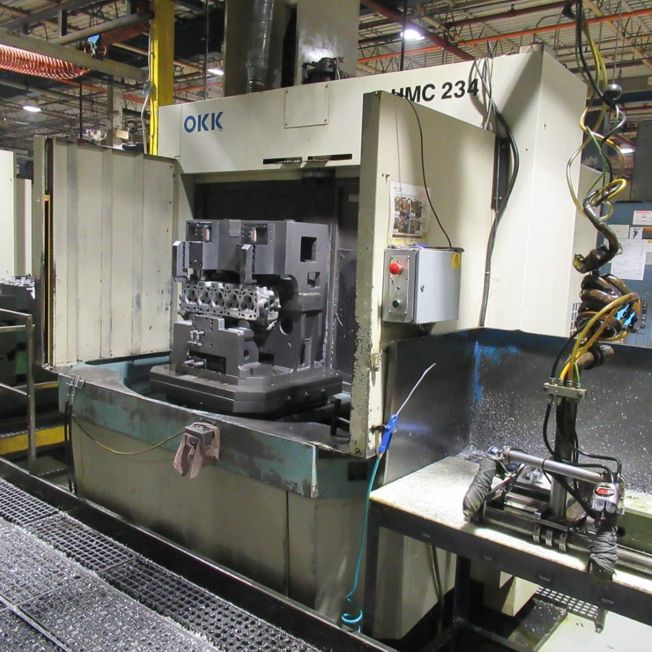 OKK HM-80S Horizontal Machining Center (3 Similar Machines Available)