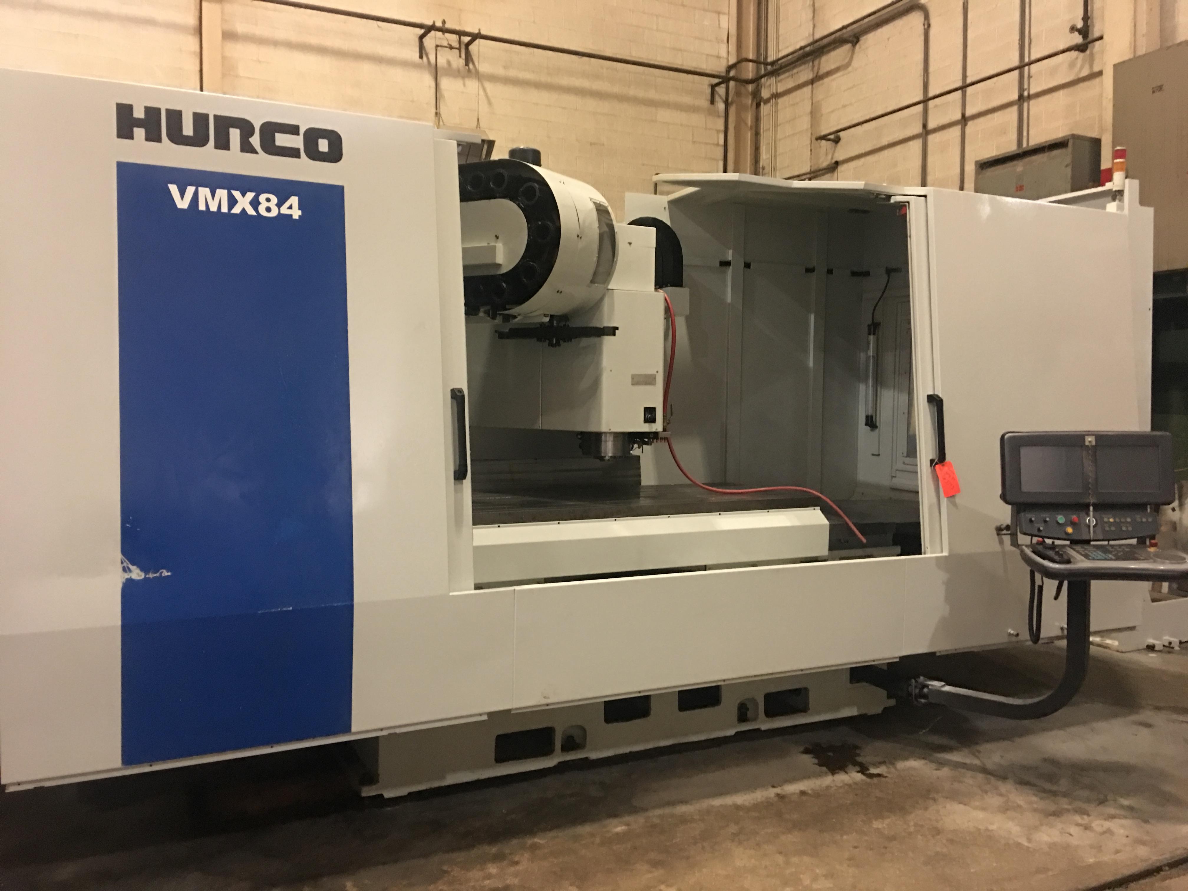 Hurco VMX84 CNC Vertical Machining Center, WinMax, 84