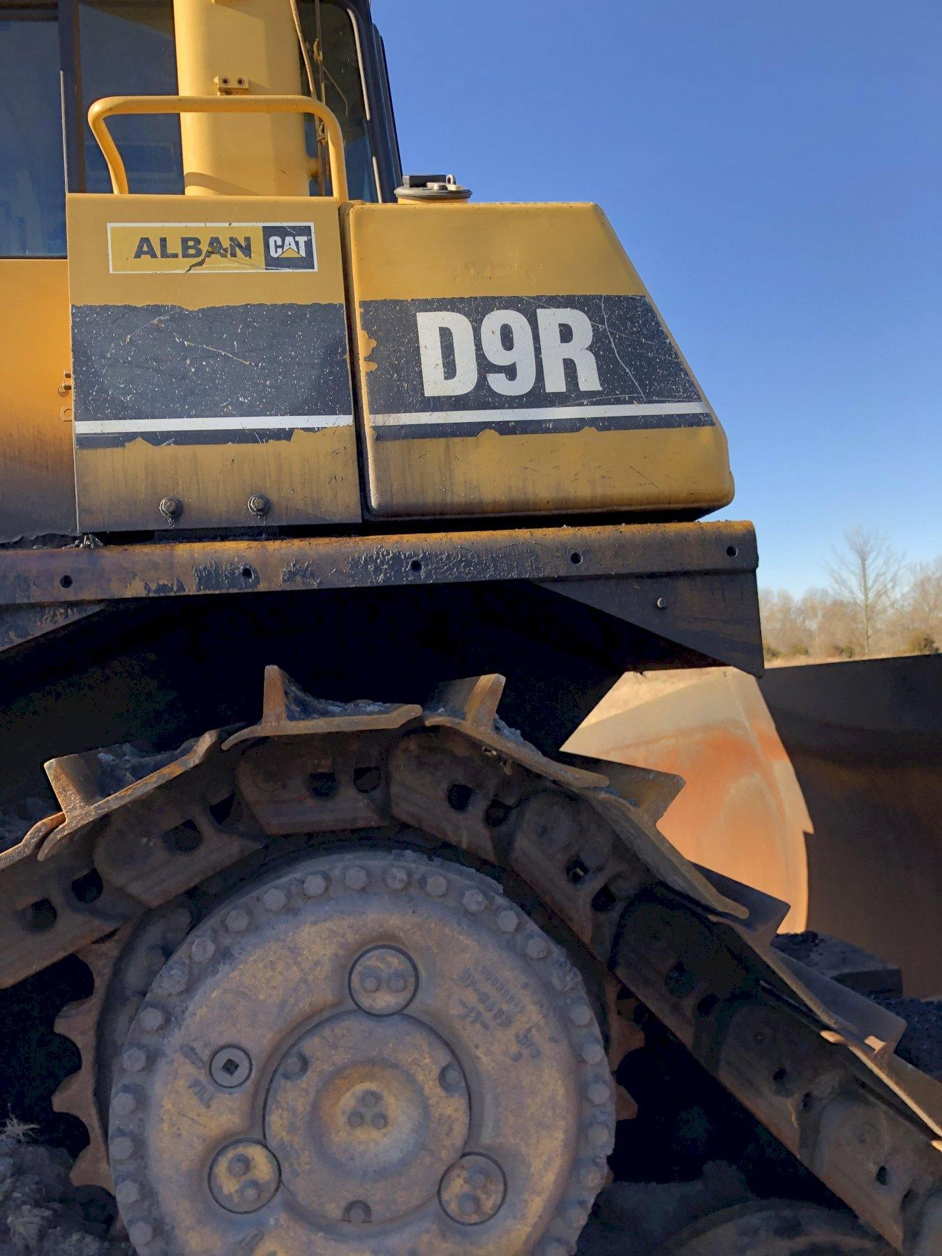 Caterpillar model d9r track mounted bulldozer s/n 7tl75004 with blade, 3408 engine s/n 99c03094, 14183 hours, rebuilt 2006 new s/n 7tl75004