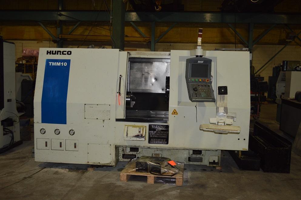 Hurco TMM-10 CNC Lathe, MAX Control, 8