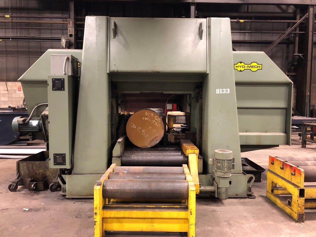 "41"" X 41"" HYD-MECH MODEL H-40/40 HORIZONTAL DUAL COLUMN BAND SAW"
