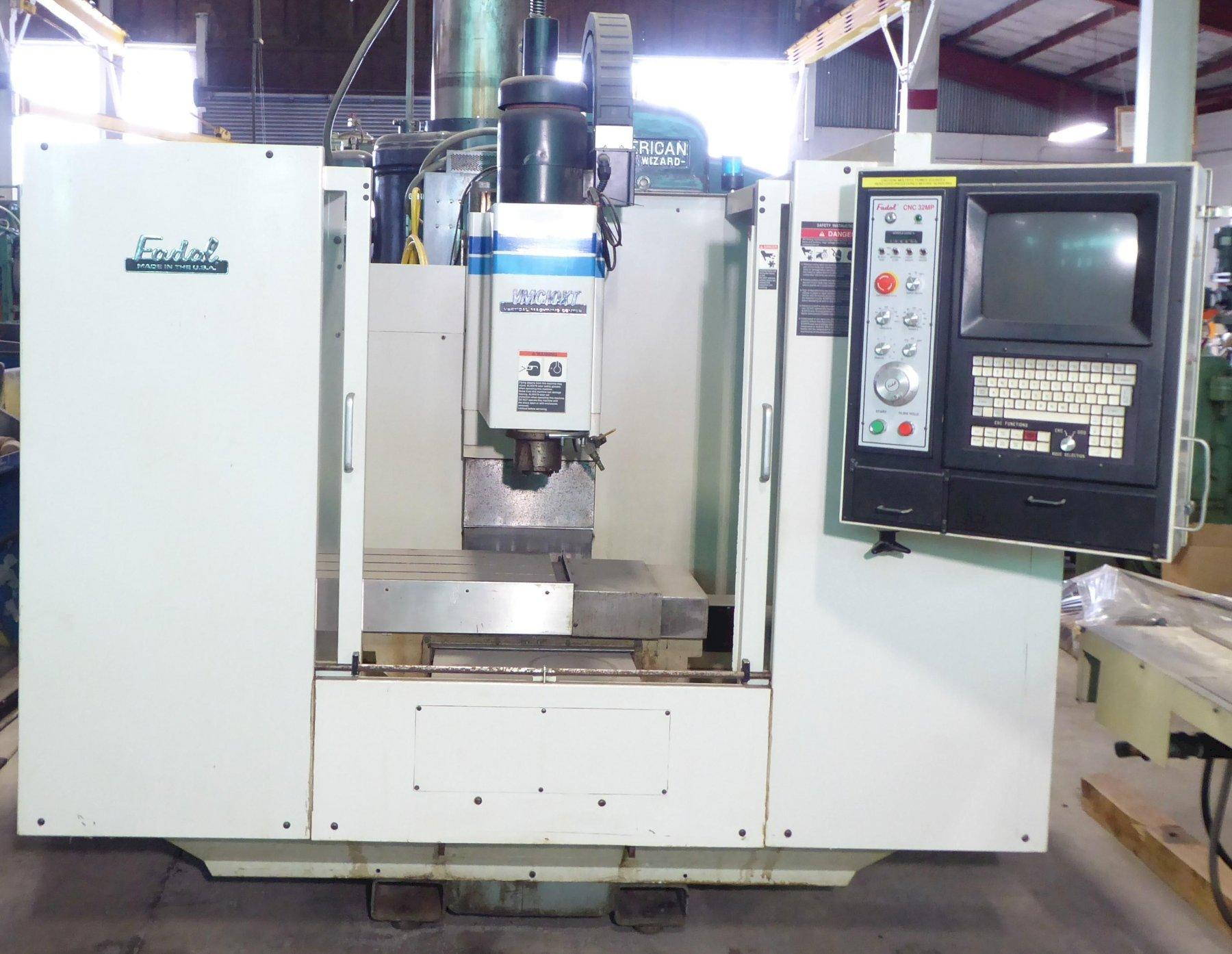 FADAL Vertical Machining Center VMC-10XT, 32MP Control, As-Is