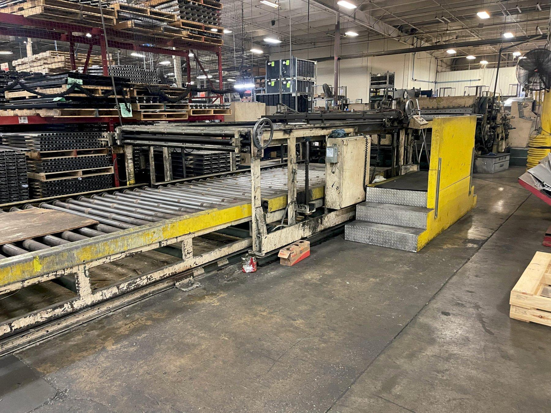 1 - PREOWNED CUT TO LENGTH WITH SLITTER LINE
