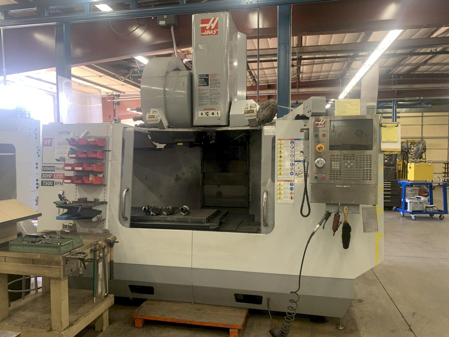 HAAS VF5/50 XT VERTICAL MACHINING CENTER, NEW 2007: STOCK #12962