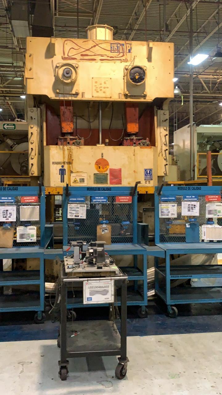 250 Ton Aida GAP Press