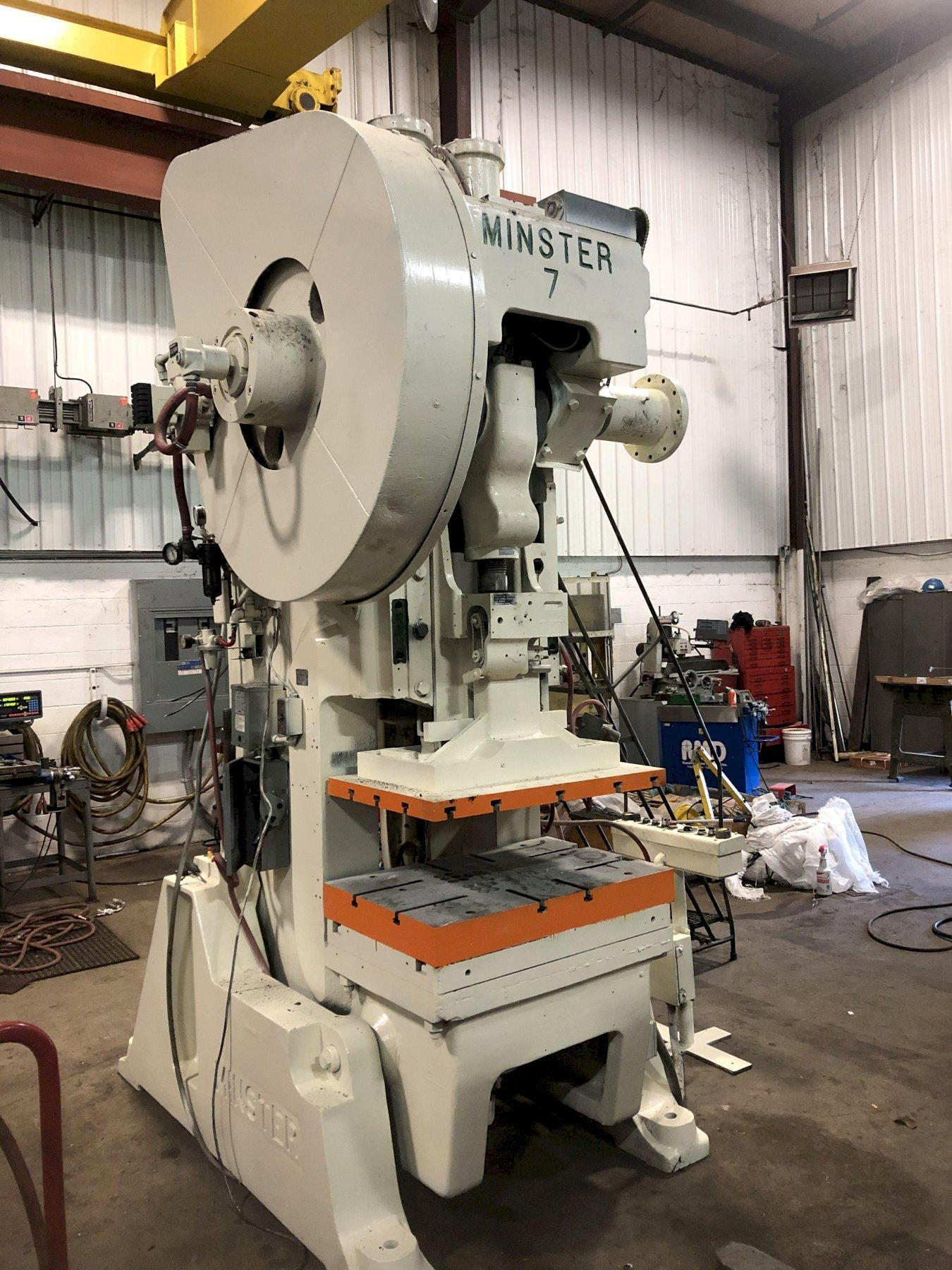 MINSTER 75 TON OBI PRESS, STOCK# 14062T