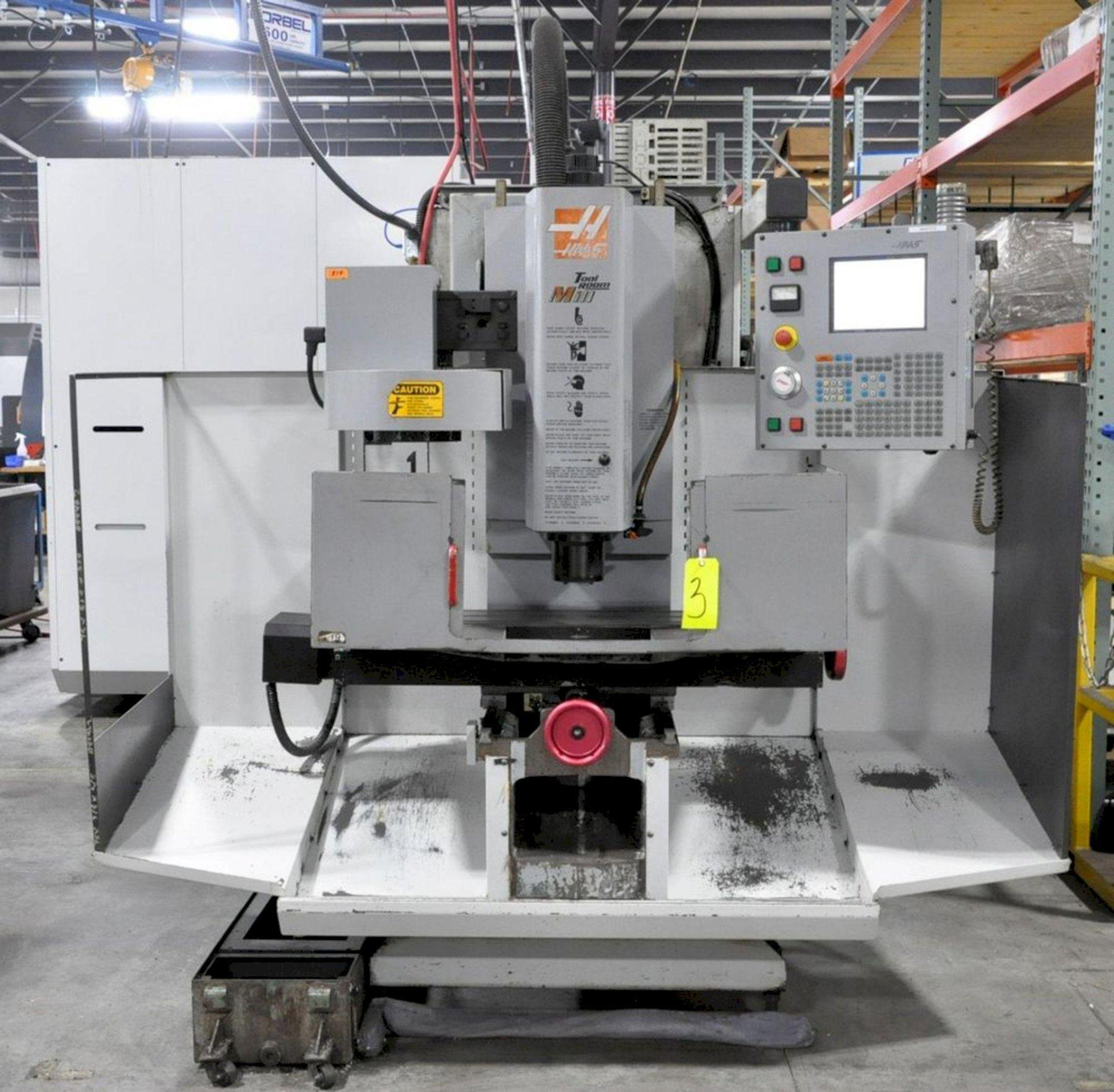 HAAS TM-1 CNC VERTICAL MACHINING CENTER. STOCK # 0633621