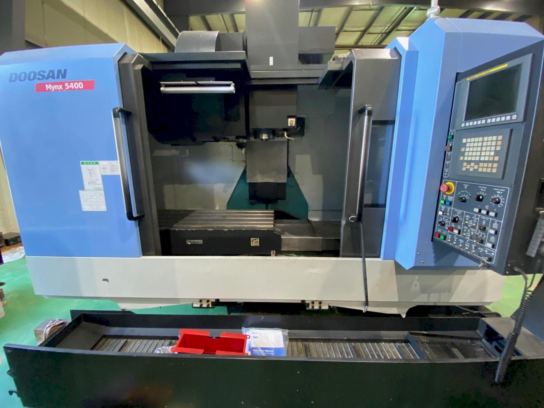 2014 Doosan Mynx 5400 - Vertical Machining Center