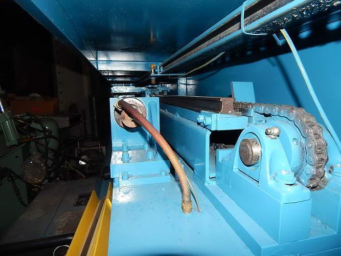 "Used HAVEN AUTOMATIC SHEAR CUT TUBE CUTOFF MACHINE, Model 740 Kleencut, 4"", Stock No. 10522"