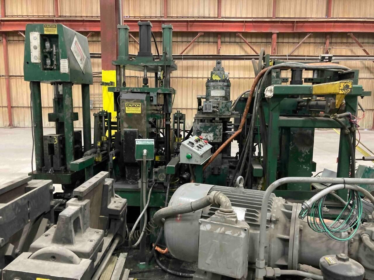 CONTROLLED AUTOMATION / WHITNEY CNC PUNCH AND SHEAR LINE: STOCK #15479