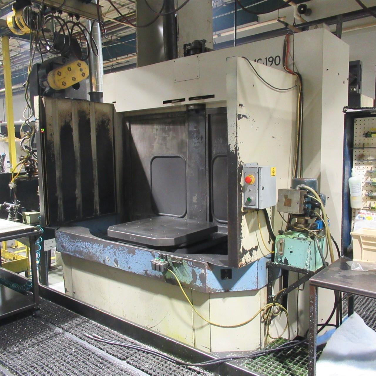 OKK HM-80S Horizontal Machining Center (2 Similar Machines Available)