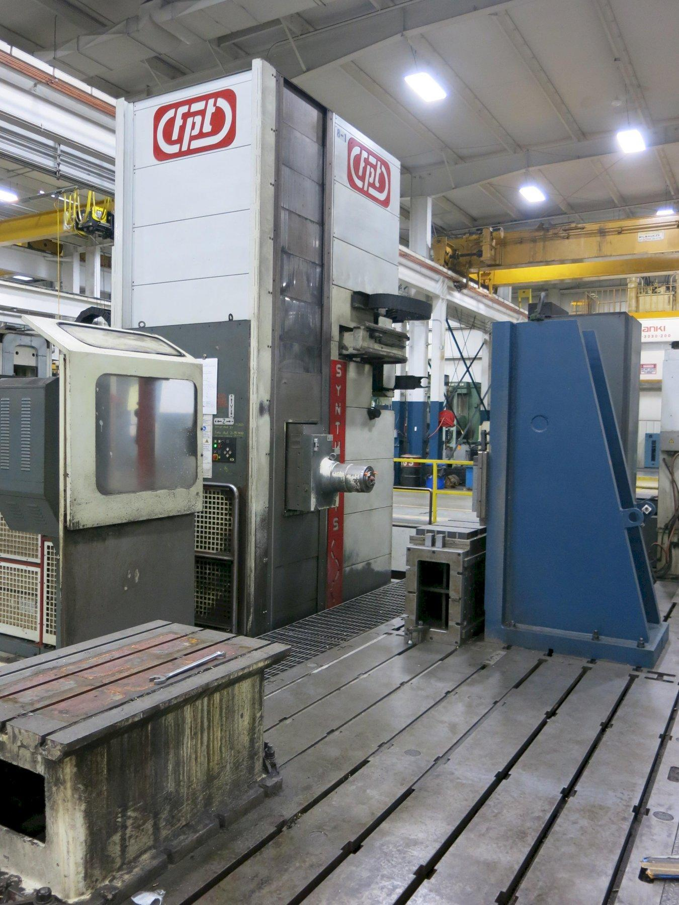 FPT Synthesis CNC Floor Mill, with Head Changer, ATC, Floor Plates, New 2002