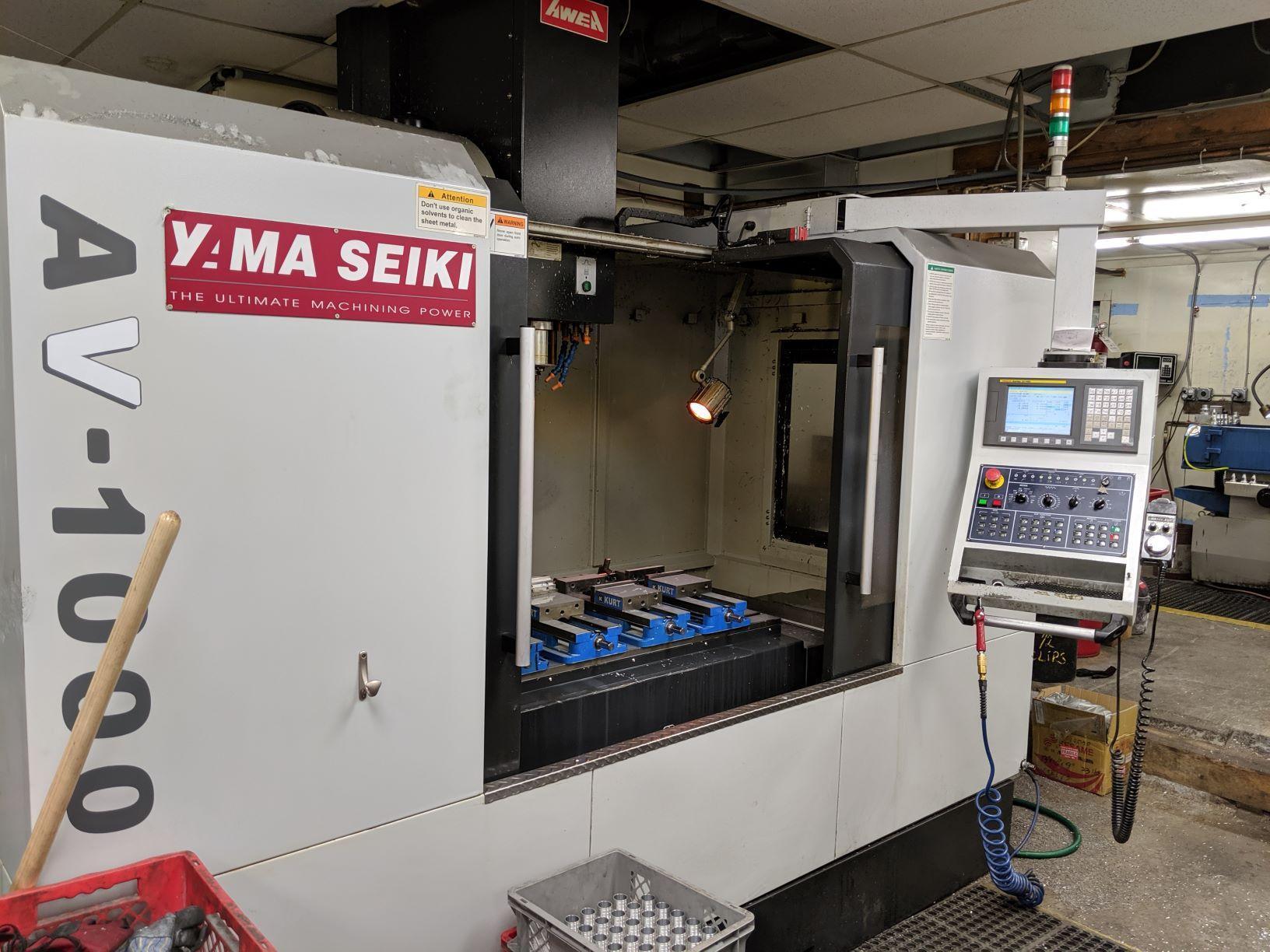 Yama Seiki AV-1000 Vertical Machining Center