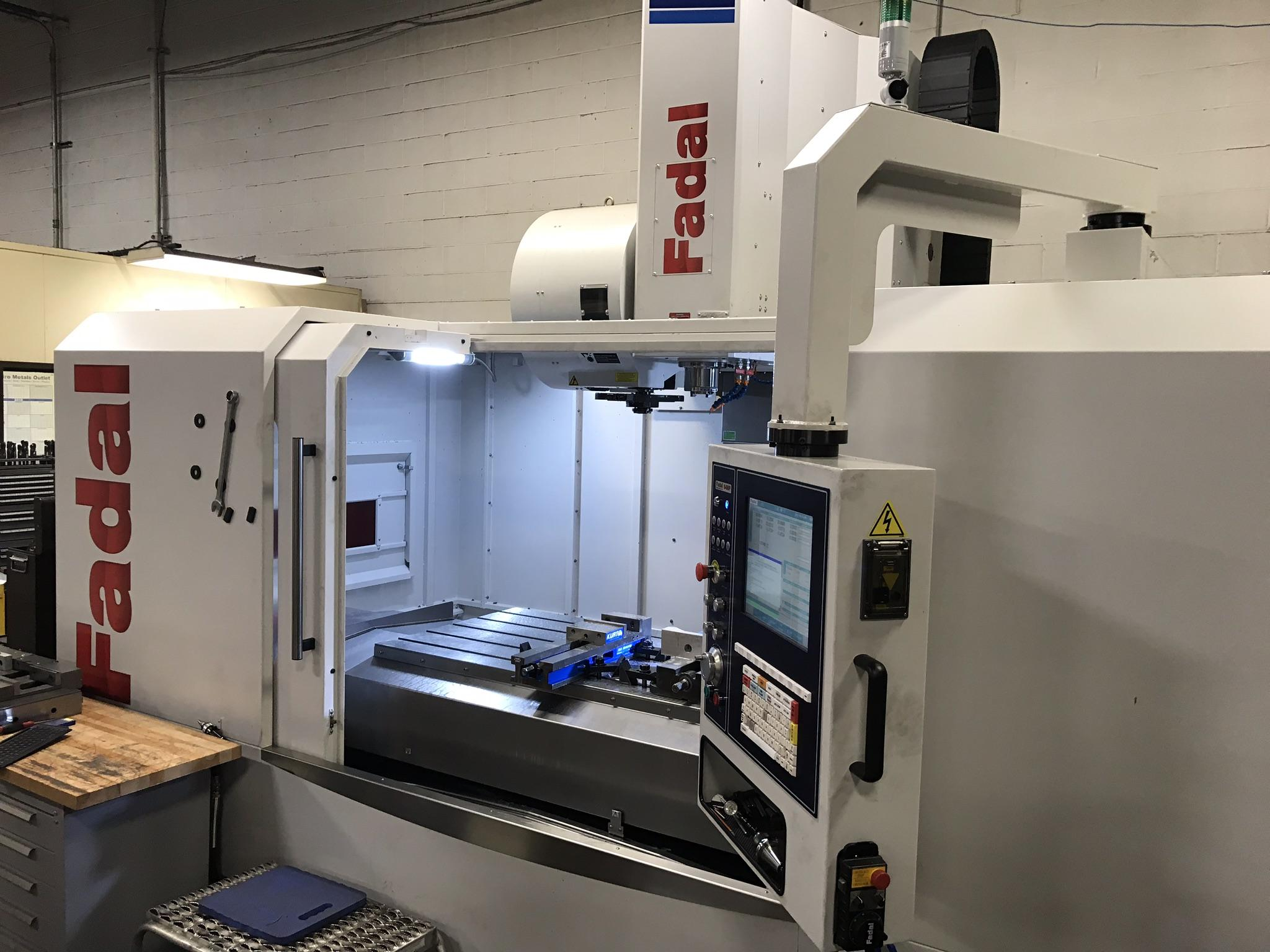 Fadal 6030HT CNC Vertical Machining Center, 64MP Control, 60