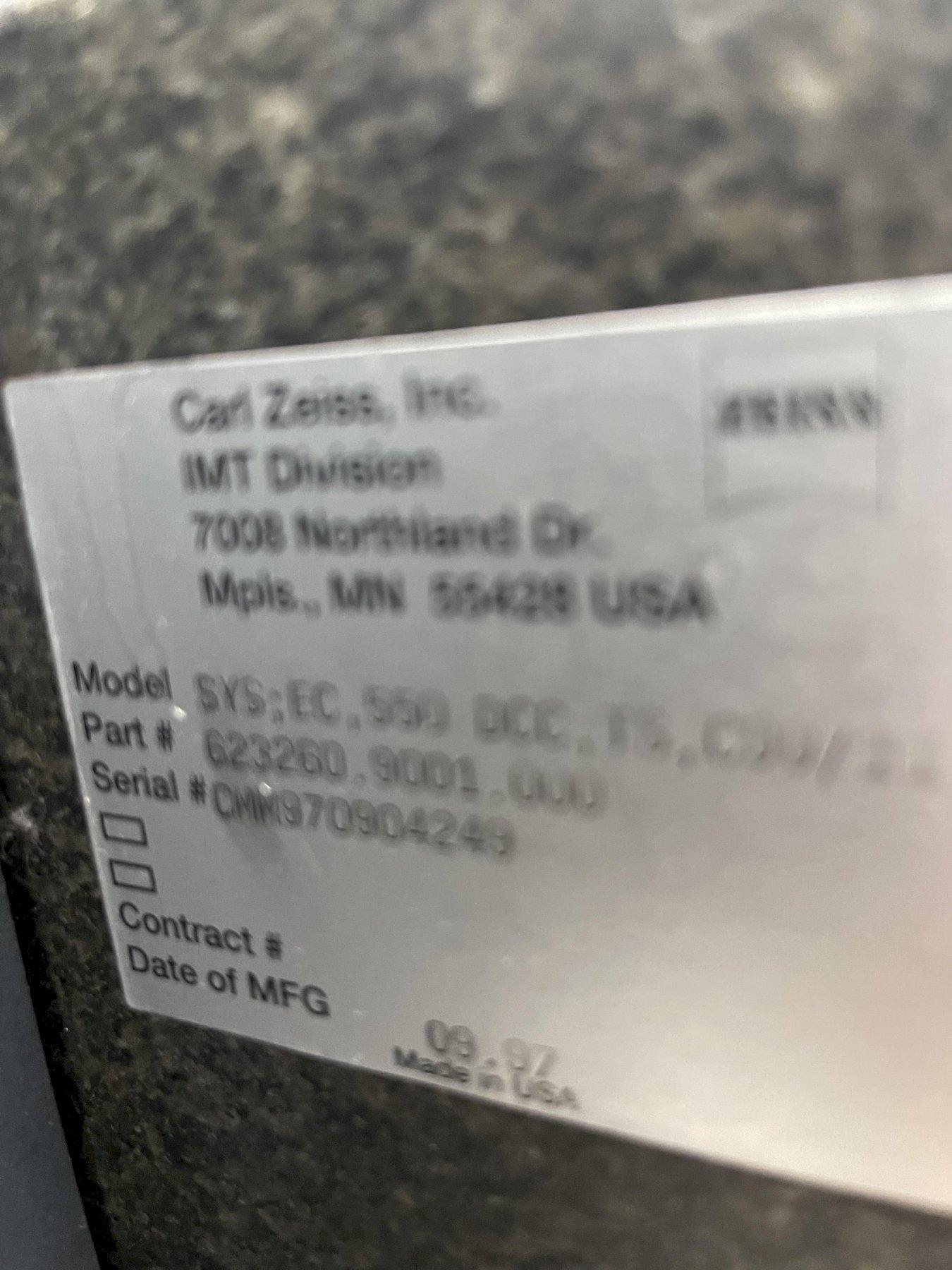 ZEISSZeiss Eclipse 550 Coordinate Measuring Machine (CMM)(#33222)