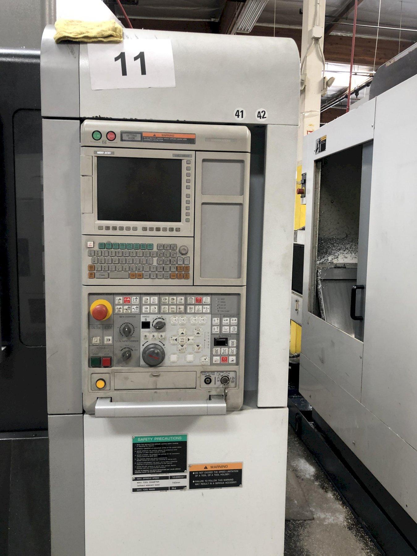 Mori Seiki NVX-5100/40 VMC 2011