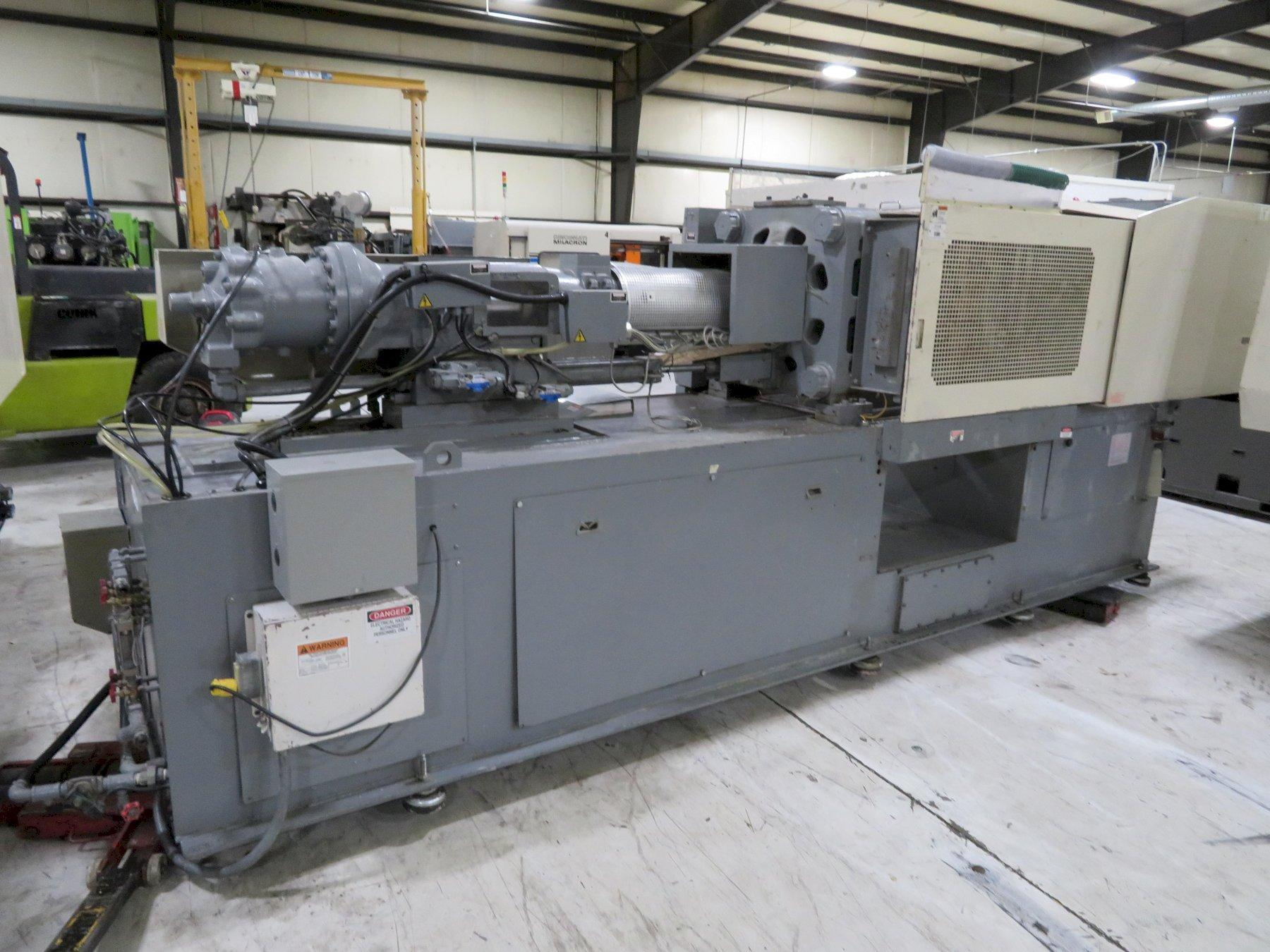 Nissei Used FN3000-25A Injection Molding Machine, 154 US ton, Yr. 2000, 10.5 oz., 460V
