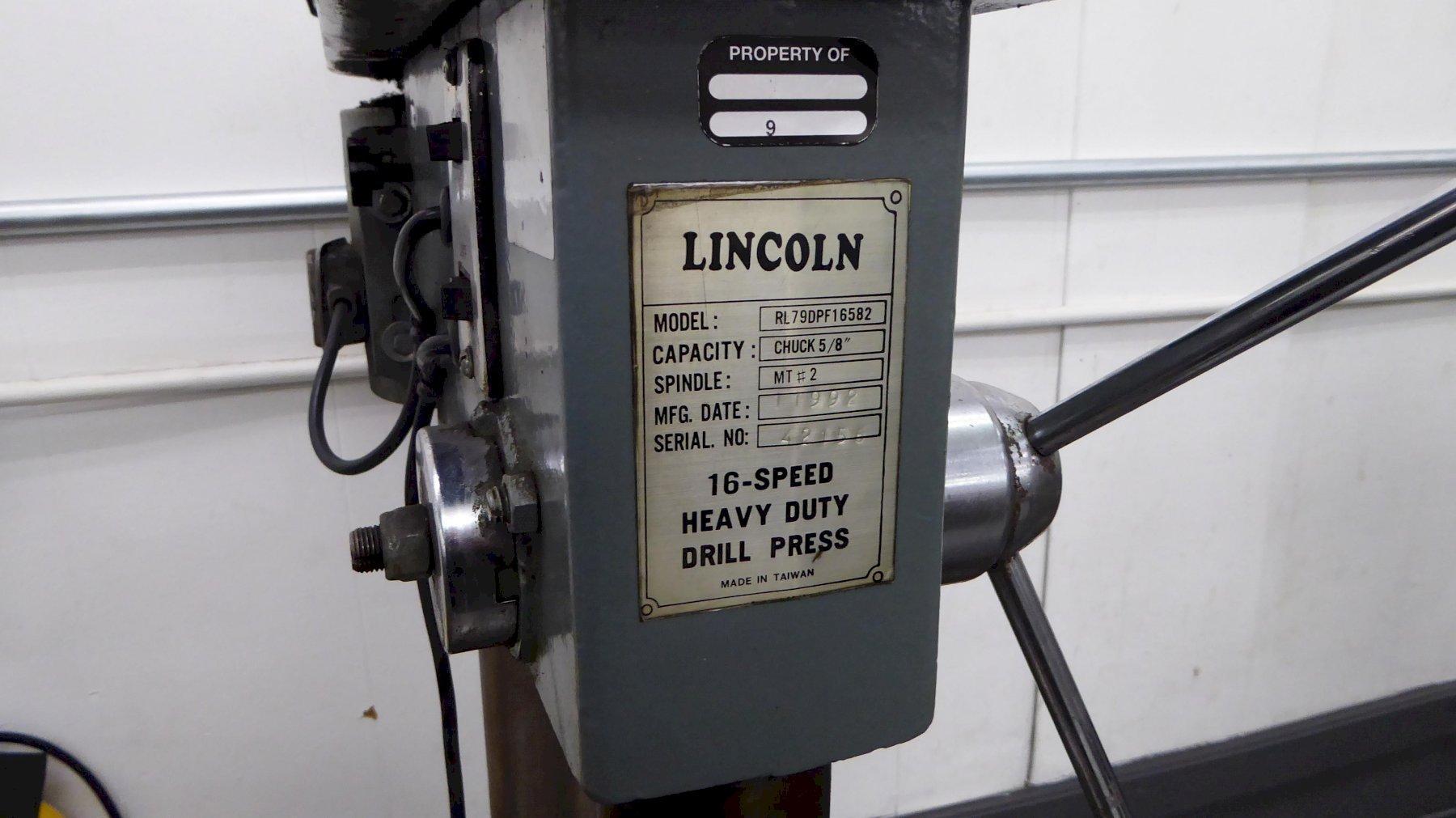 Lincoln Drill Press