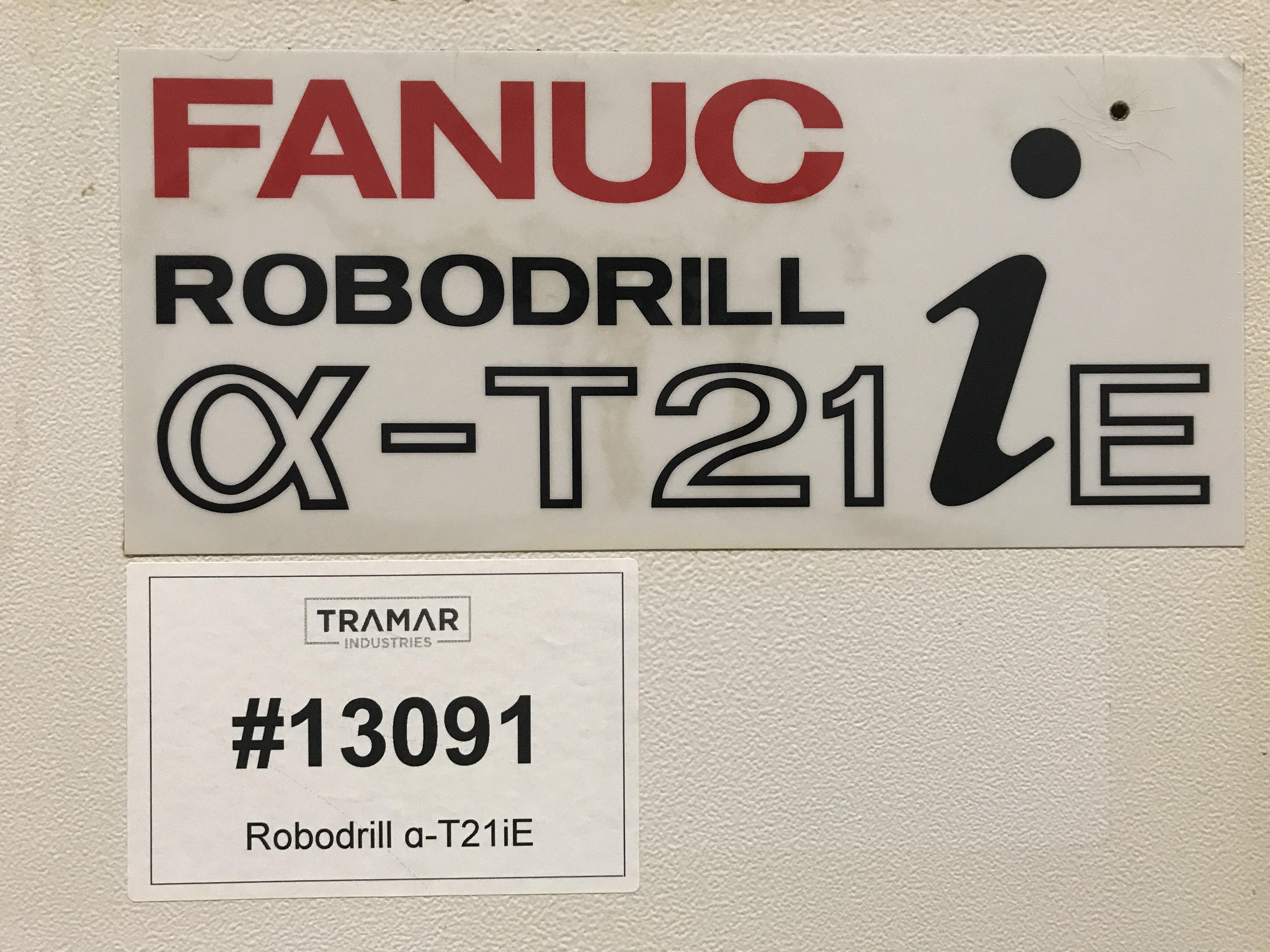 2005 FANUC Robodrill a-T21iE - 5 Axis - Vertical Machining Center