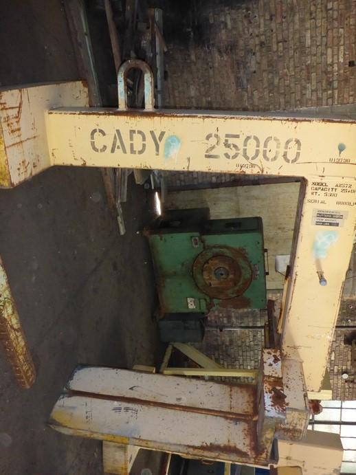 "25,000# x 60"" Cady Pallet Lifter"