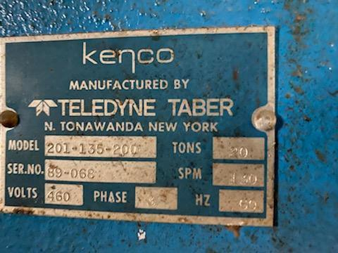 20 Ton Kenco OBI Press