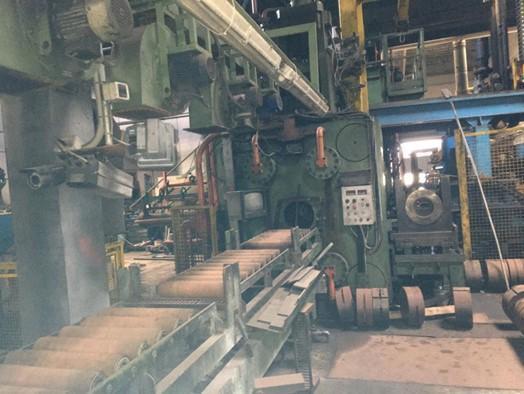 "1650 Ton 7"" Aluminum Extrusion Line with Powder Coating"