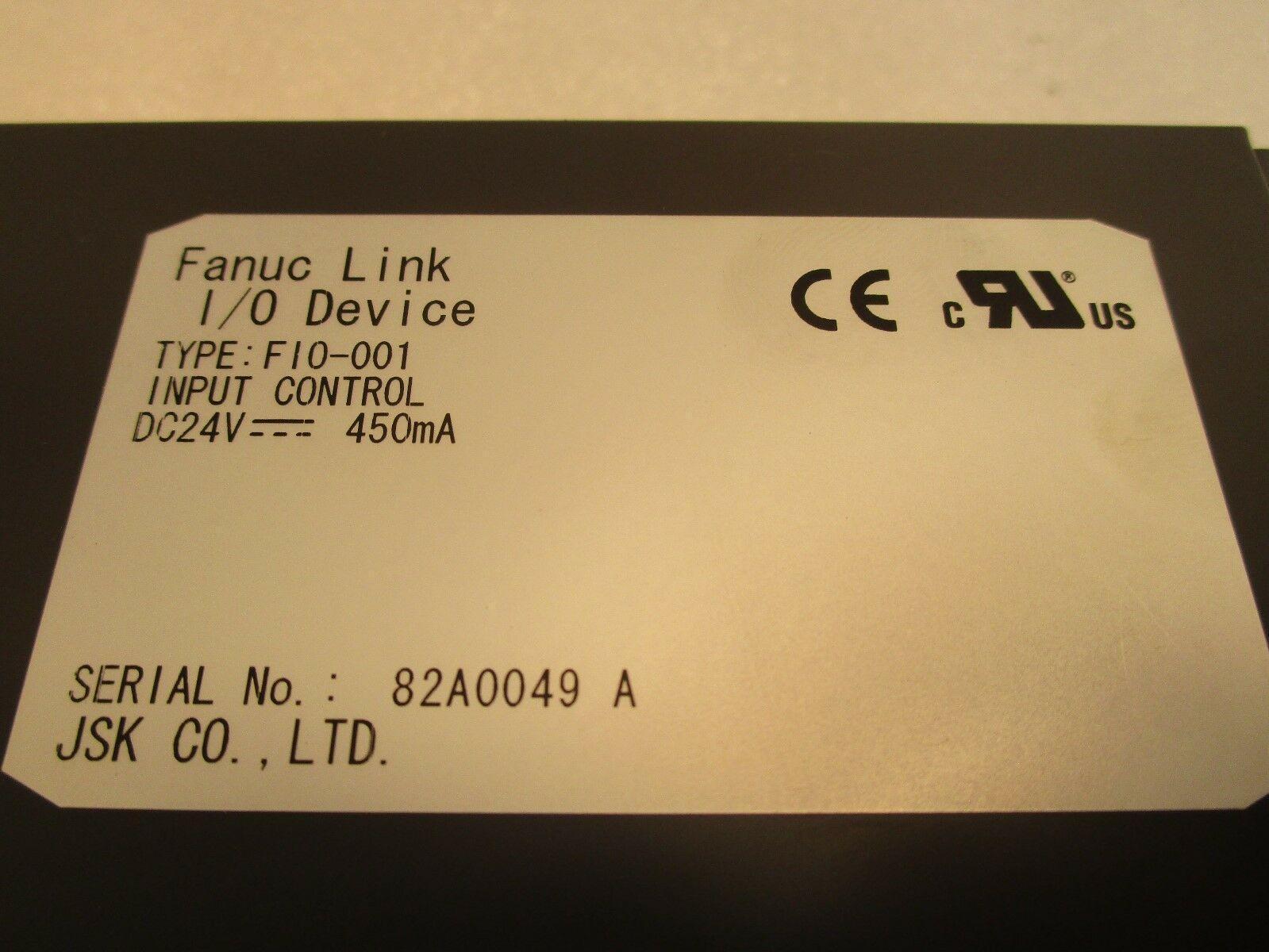 JSK Co Japan Control Engineering JCE F10-001 I/O Device