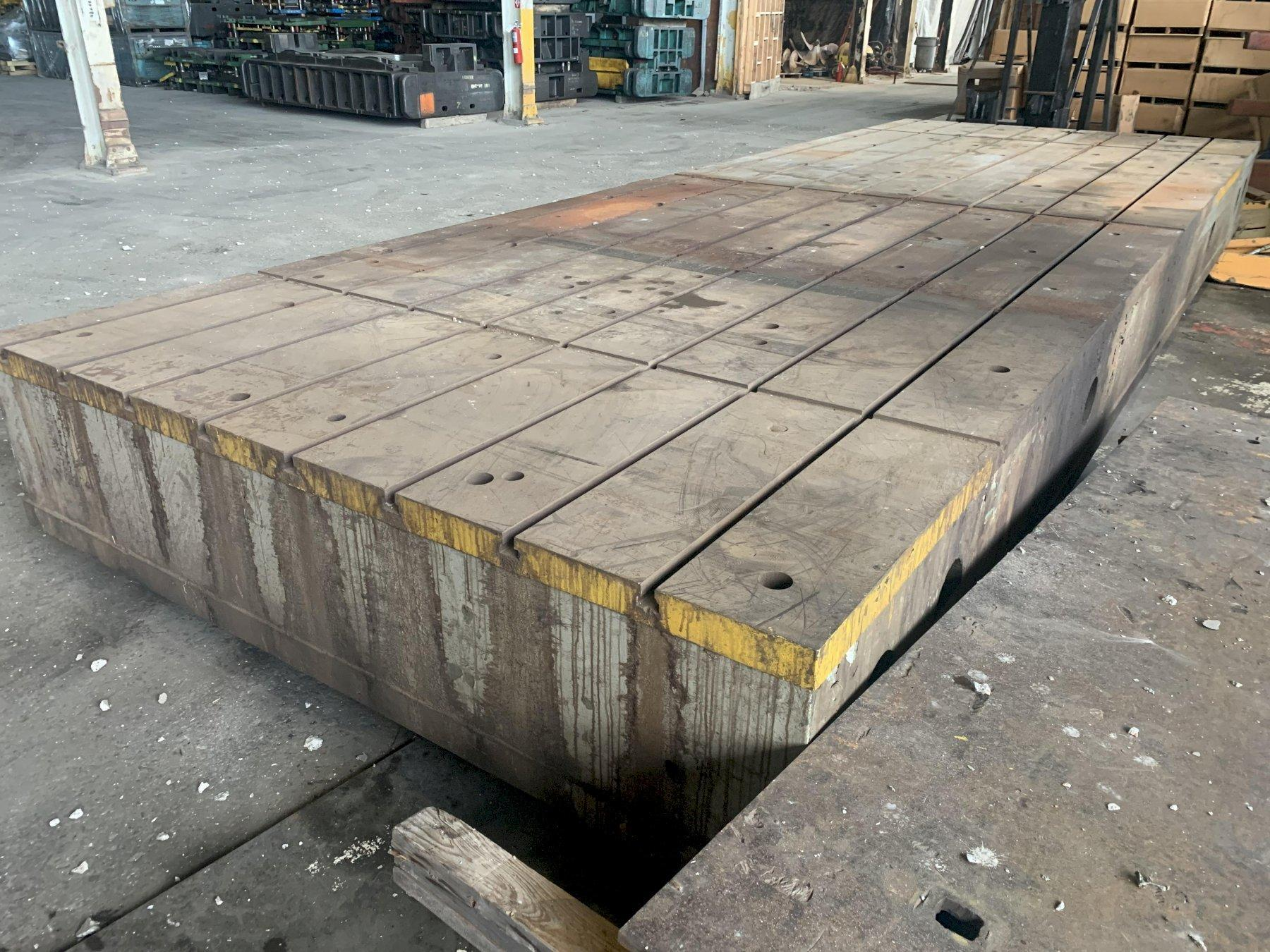 "106"" (8'6"")' X 288"" (24') X  23.75"" T-SLOTTED FLOOR PLATE: STOCK #13733"