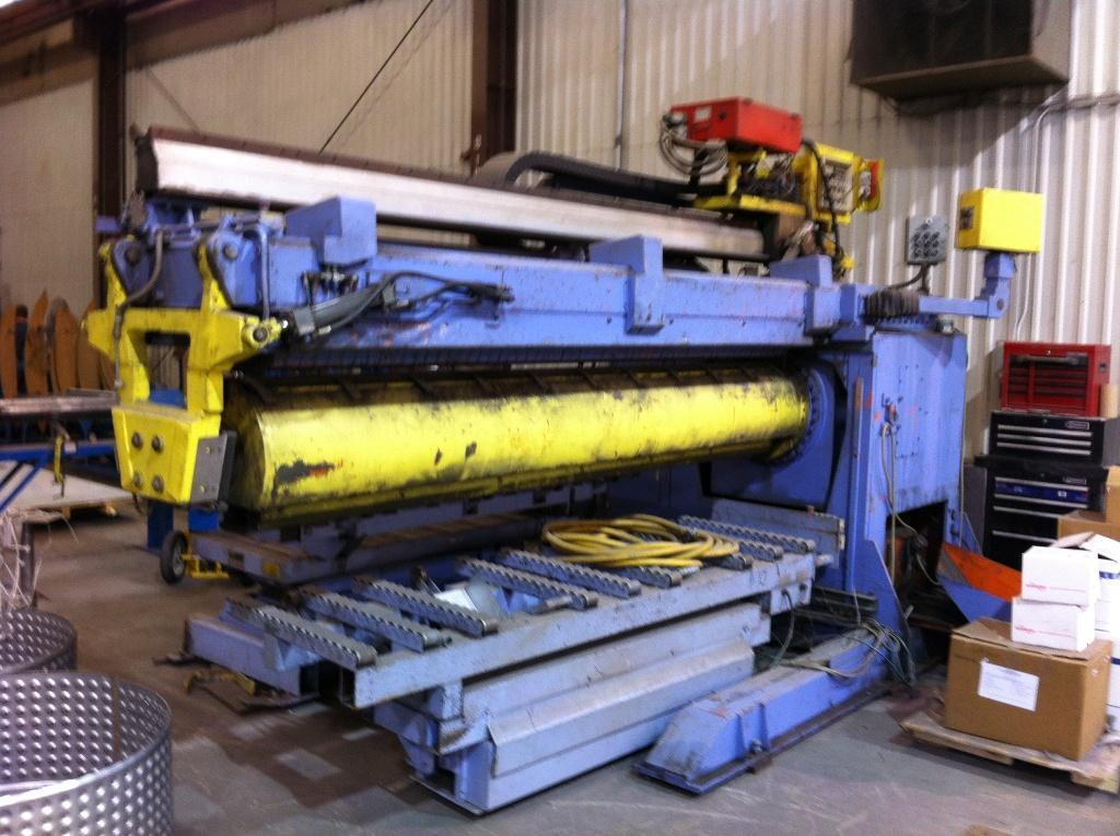120' CLOOS SEAM WELDER WITH POWER SUPPLY: STOCK #61634