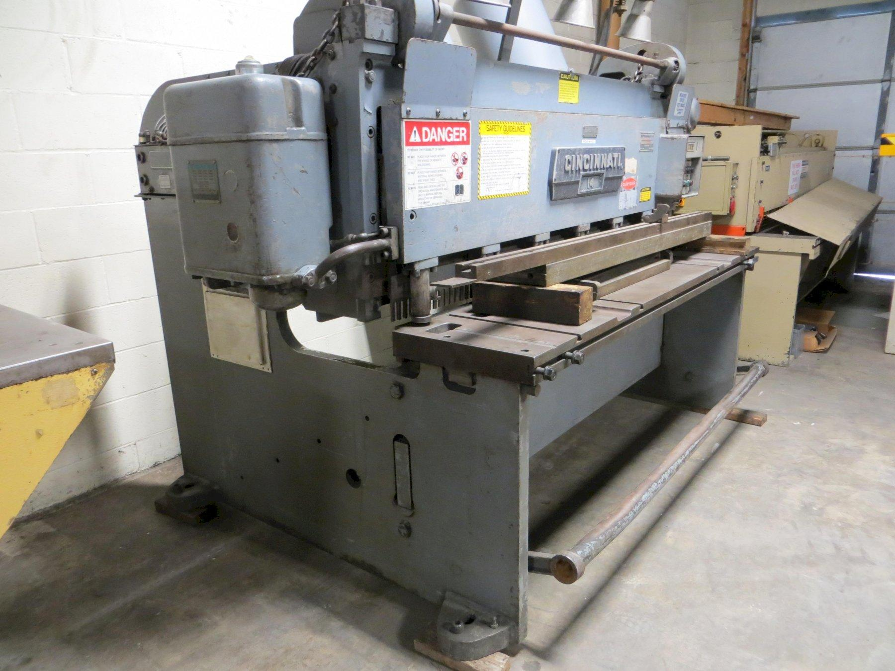 "3/16"" x 6 ft Used Cincinnati Mechanical Power Shear Model 1406R"