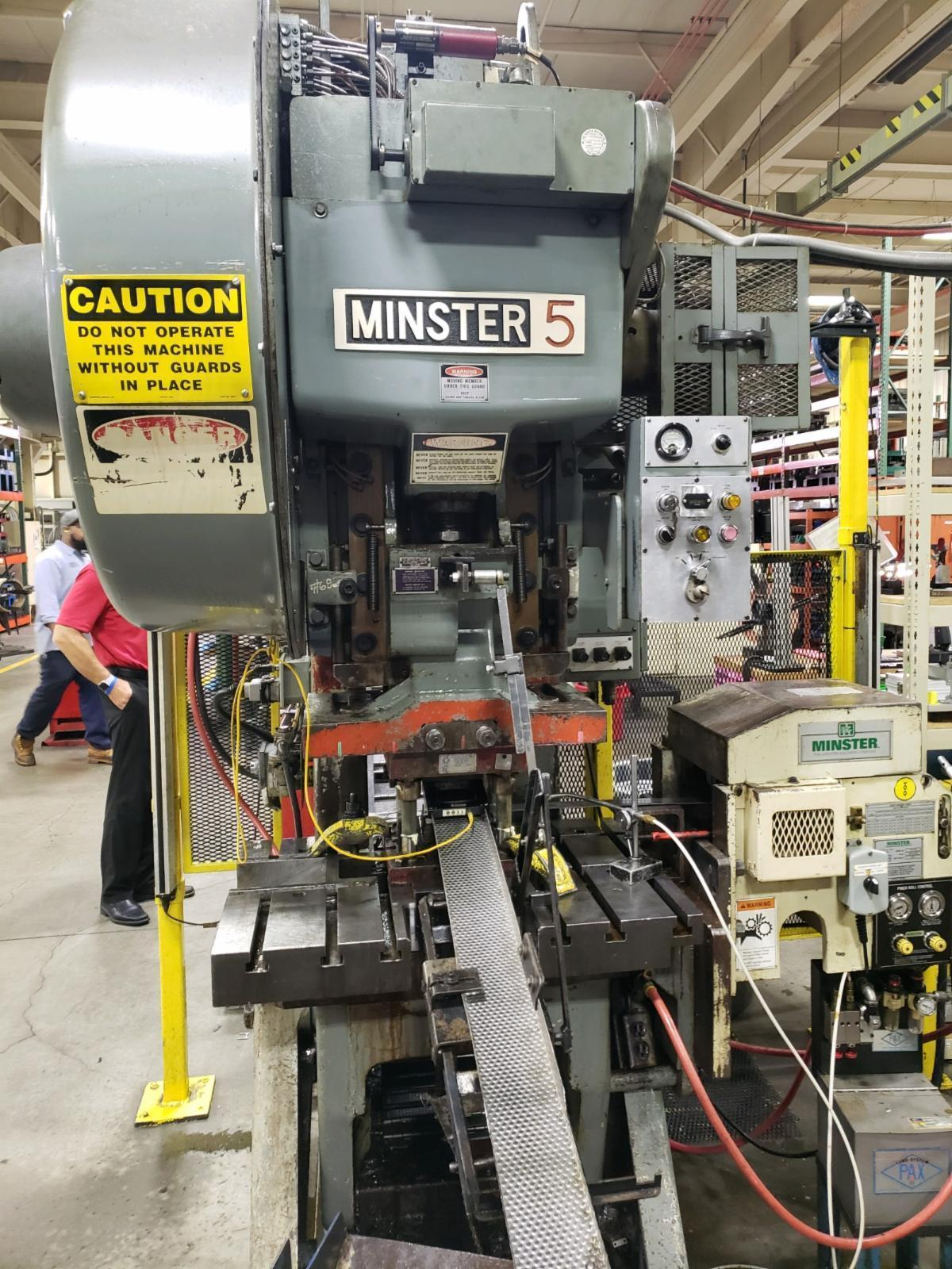 MINSTER #5 OBI PRESS/MINSTER FEED/LITTELL BACK END