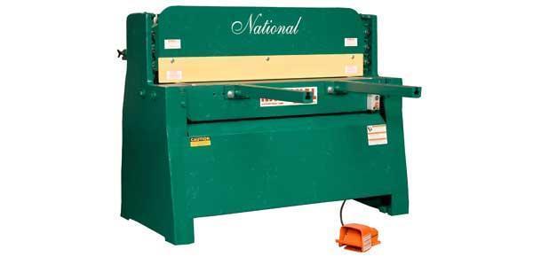 "1/4"" x 4 ft, New National Hydraulic Shear, Model NH4825"