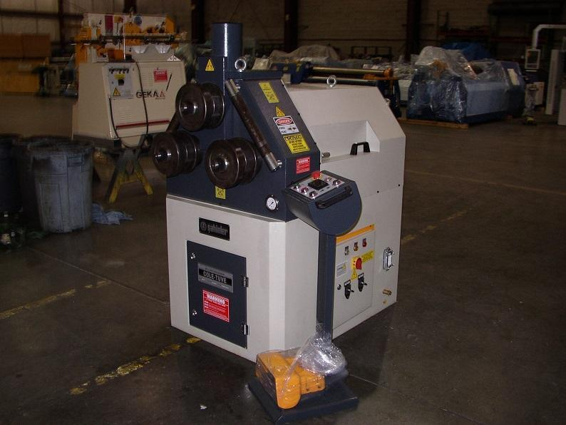"""1/4"""" x 3"""" x 3"""" New Cole Tuve by Sahinler Angle and Shape Bending Roll Model HPK60"""