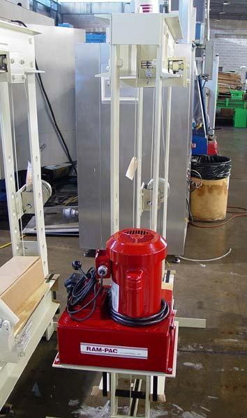 """30 TON RAM-PAC H-FRAME HYDRAULIC PRESS, Model HPE-303, 30 Tons, 11-1/2"""" x 36"""" Bed Area, 28"""" Between Uprights, Electric Hydraulic Unit with Pendent Control, 110 Volt, New!"""